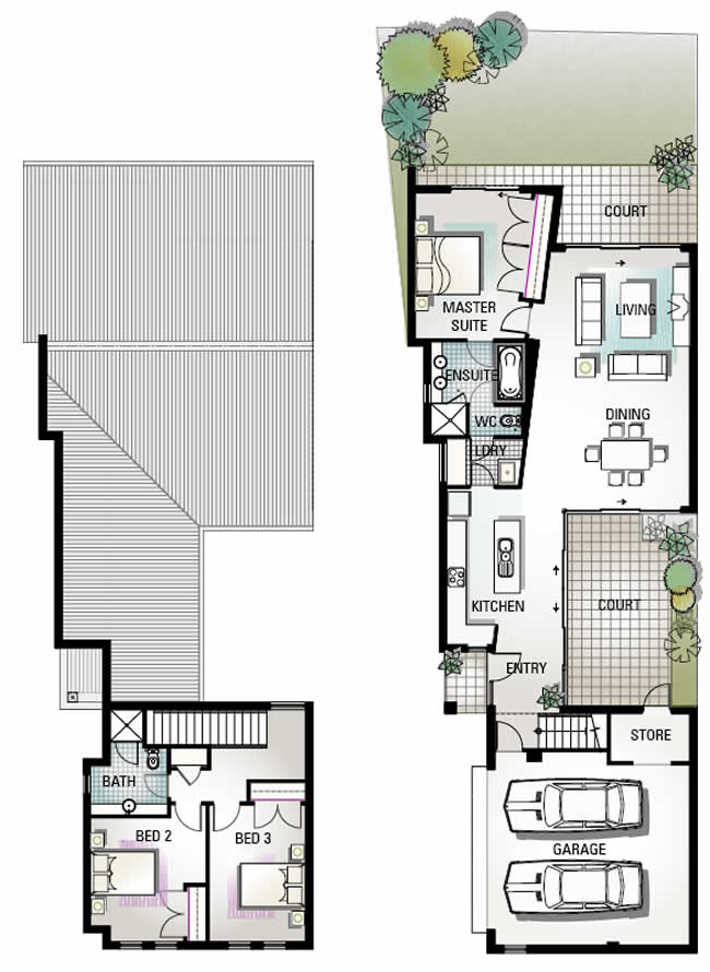 Somerville Mews Floor Plan 4